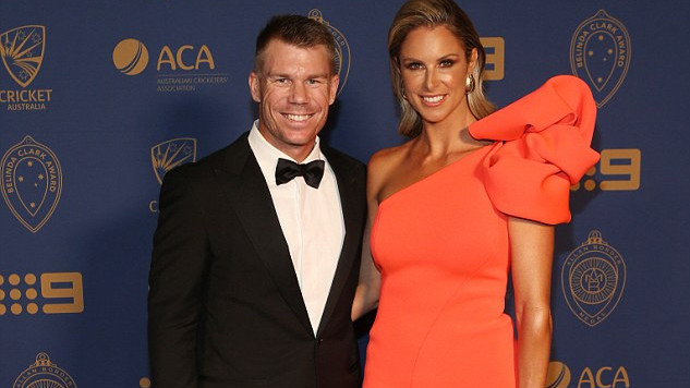 Candice Warner defends her husband David's flamboyant lifestyle