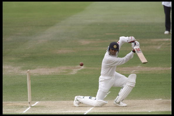Dravid scored a brilliant 95 on Test debut at Lord's in 1996 | Getty