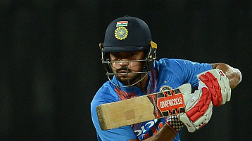 Skipper Manish Pandey's unbeaten 95 helps India B thump South Africa A