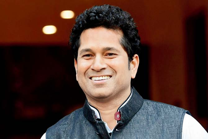Sachin Tendulkar named as the brand ambassador of  T20 Mumbai League