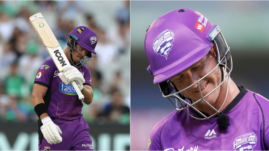 WATCH: D'Arcy Short misses out his hundred because of umpiring error in BBL