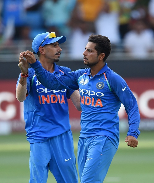 Kuldeep Yadav and Yuzvendra Chahal have been amazing for India  | Getty