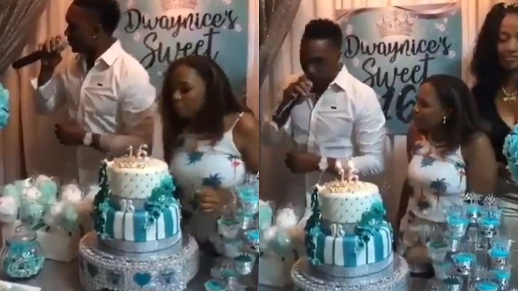 WATCH: Dwayne Bravo sings the 'Champion' song on his daughter's 16th birthday
