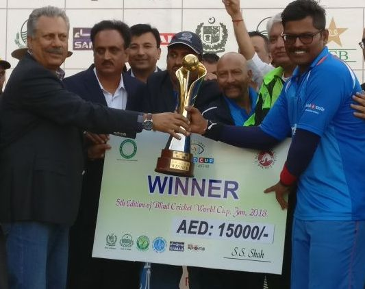 Indian Blind Cricket Team dedicate their World Cup triumph to armed forces