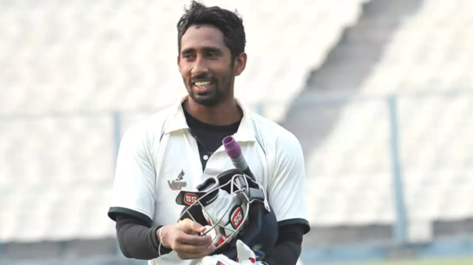 Wriddhiman Saha set for return to action with Syed Mushtaq Ali Trophy