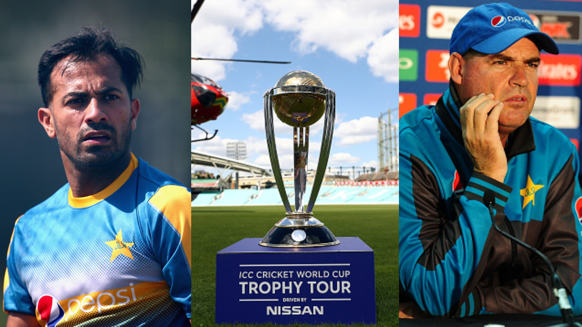 CWC 2019: Wahab Riaz determined to prove coach Mickey Arthur wrong in the World Cup