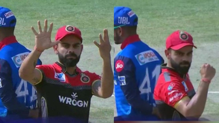 IPL 2019: WATCH - Virat Kohli reacted funnily after losing his ninth toss of the season