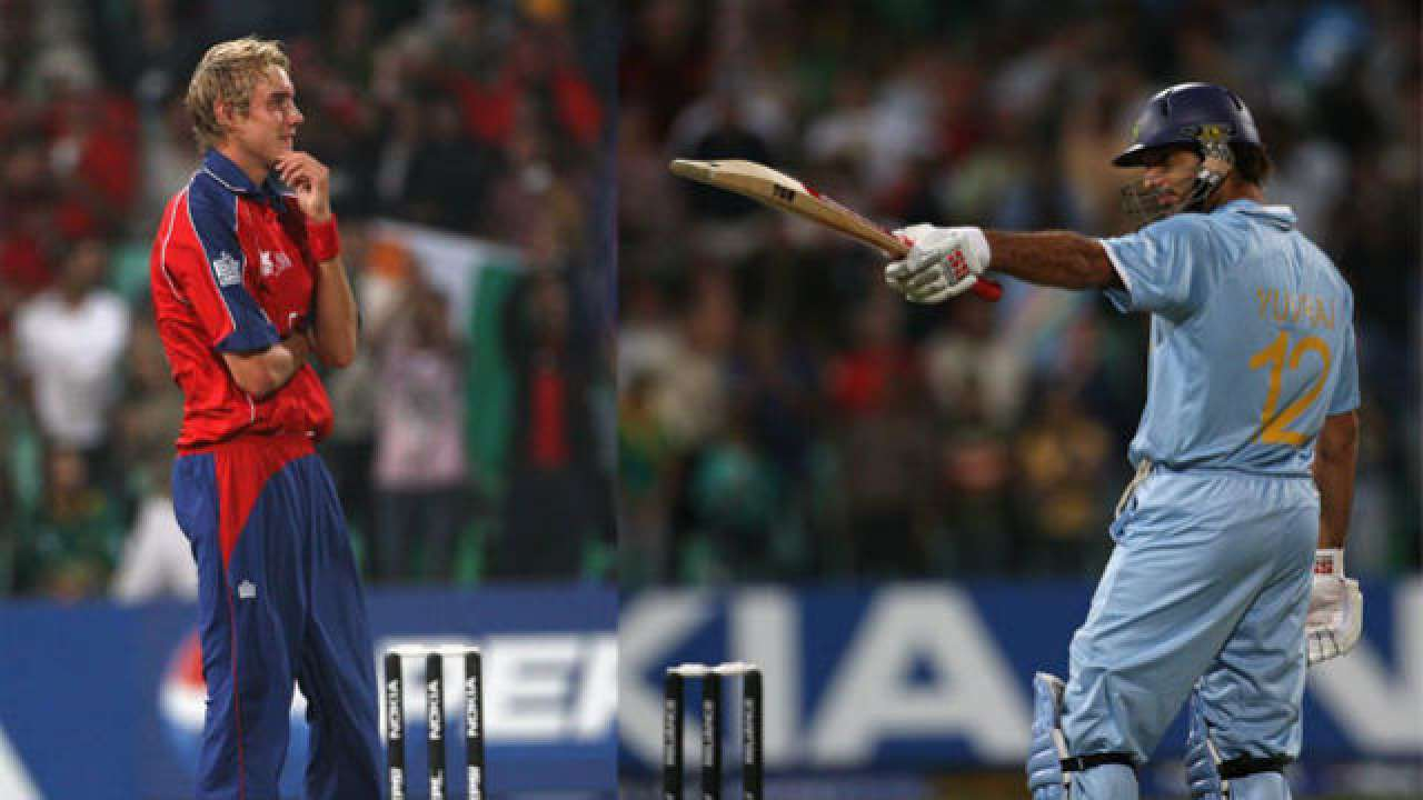 Yuvraj Singh hit Stuart Broad for six sixes in 2007 | Getty Images