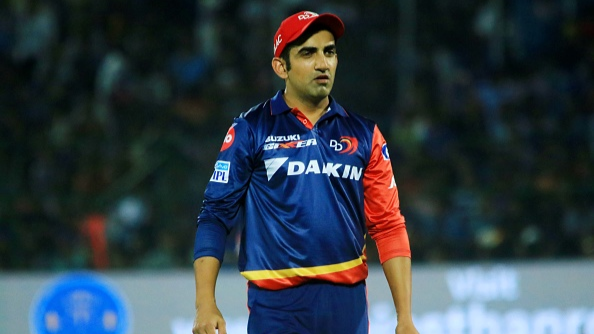 IPL 2018: Gambhir to abandon his salary after stepping down as Delhi Daredevils captain