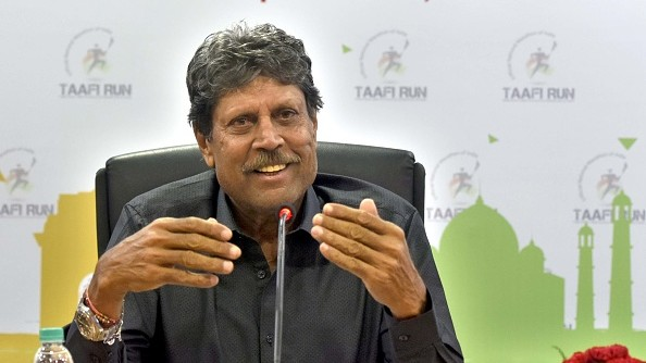 CWC 2019: Kapil Dev shares his two cents on Team India's No. 4 batsman for the upcoming World Cup