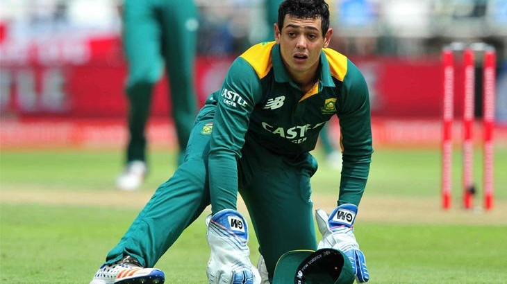 SA v PAK 2018-19: Quinton de Kock ruled out of T20I Series, South Africa announces replacement