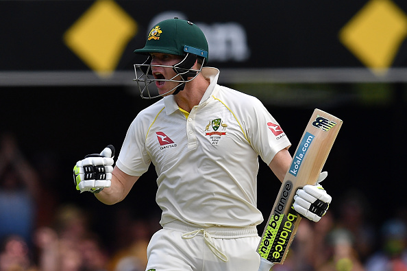 Smith has amassed over 600 runs this Ashes series. (Getty)