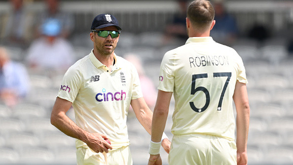 """""""He's got the full support of the team"""", James Anderson says England has accepted Ollie Robinson's apology"""
