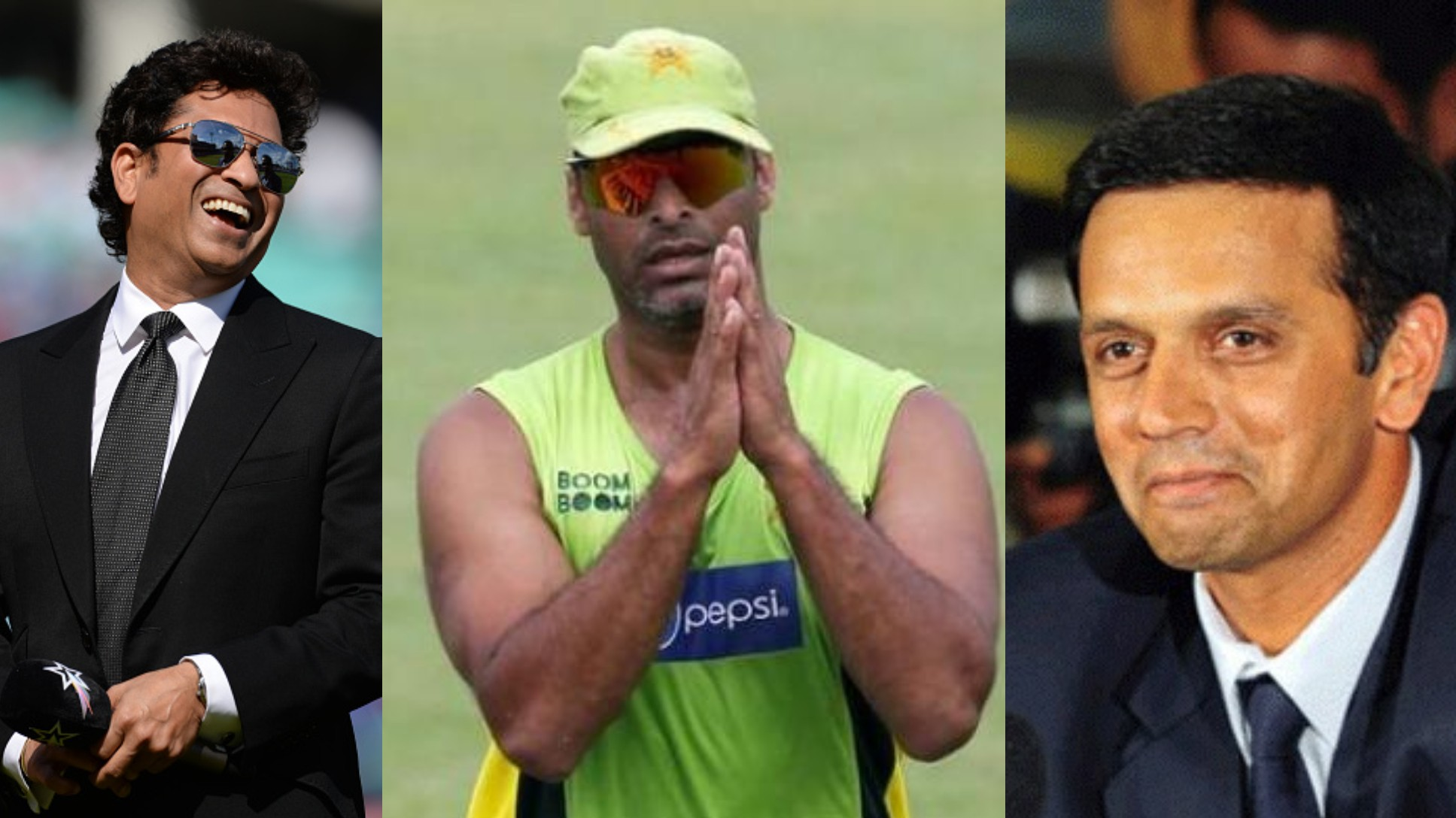 Shoaib Akhtar under fire from fans for using Rahul Dravid's achievements to take dig at Sachin Tendulkar