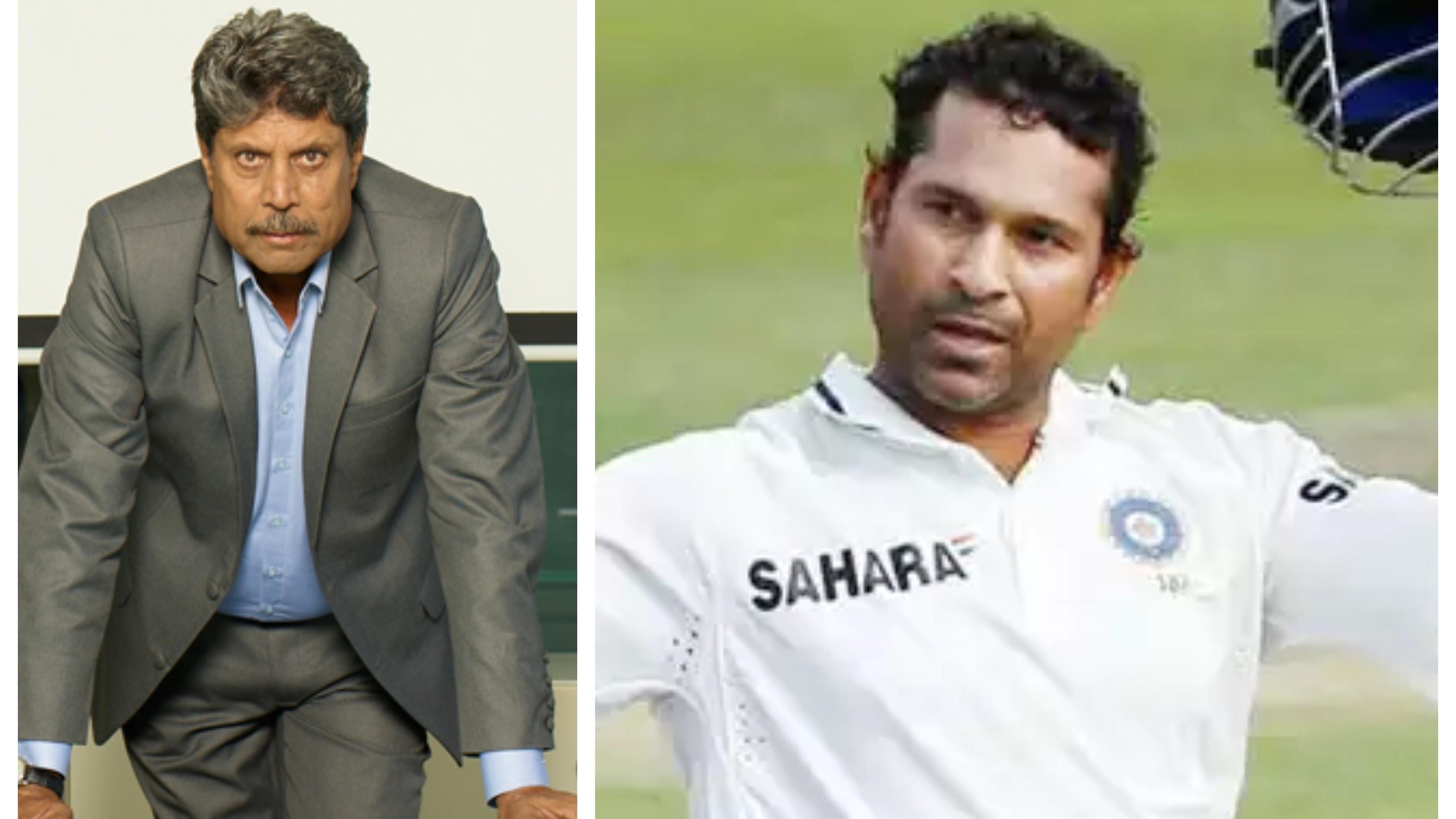 """Sachin should've made five triple centuries, he never became a ruthless batsman"": Kapil Dev"