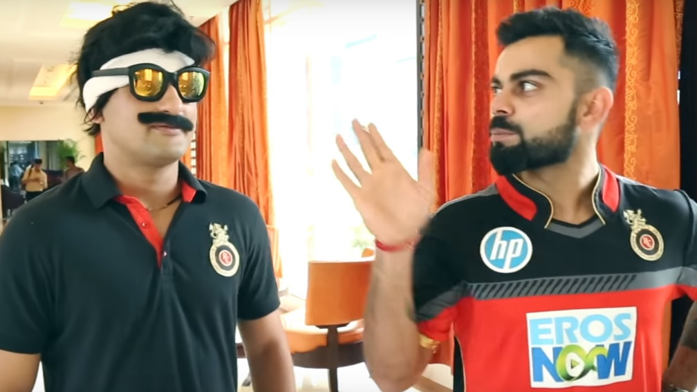 Watch: Virat Kohli loses his cool on RCB insider Mr.Nags