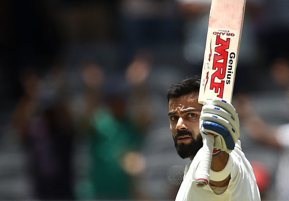 Virat Kohli scored 123 | Getty Images
