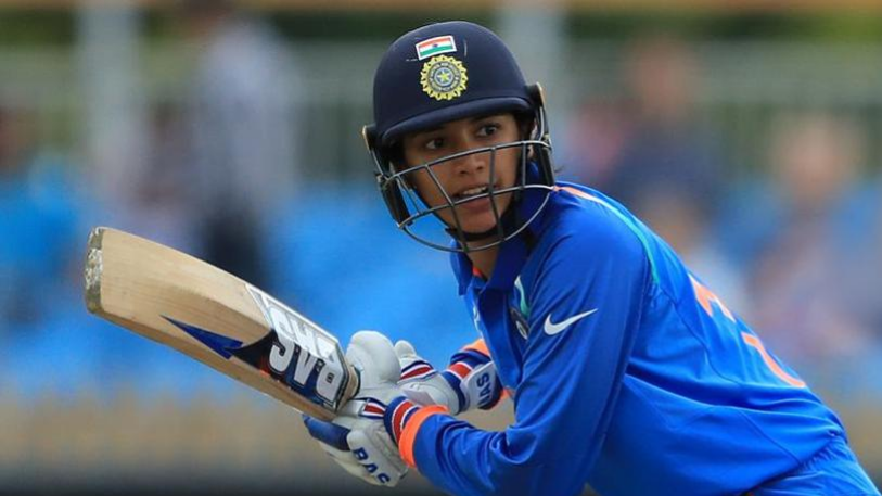 Watch – Smriti Mandhana shows her wonderful skills by batting right handed