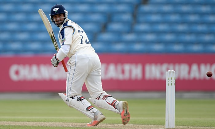Pujara has earlier played for Yorkshire in 2015 | Getty