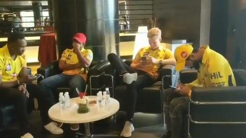 IPL 2018: WATCH- After Mark Wood, Dwayne Bravo dedicates the song to Ambati Rayudu pulling his leg