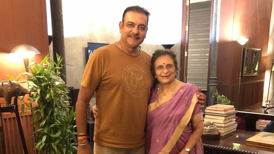 Ravi Shastri wishes his mother on her 80th birthday with a perfect tweet
