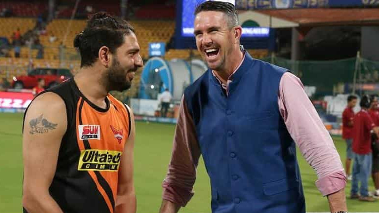 Yuvraj Singh asks for opinion on Shiva Singh, gets roasted by Kevin Pietersen