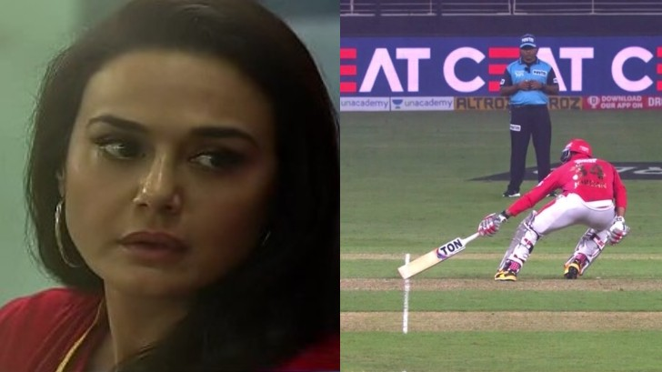 IPL 2020: Preity Zinta ruffled by the wrong short run call which cost Kings XI Punjab a win