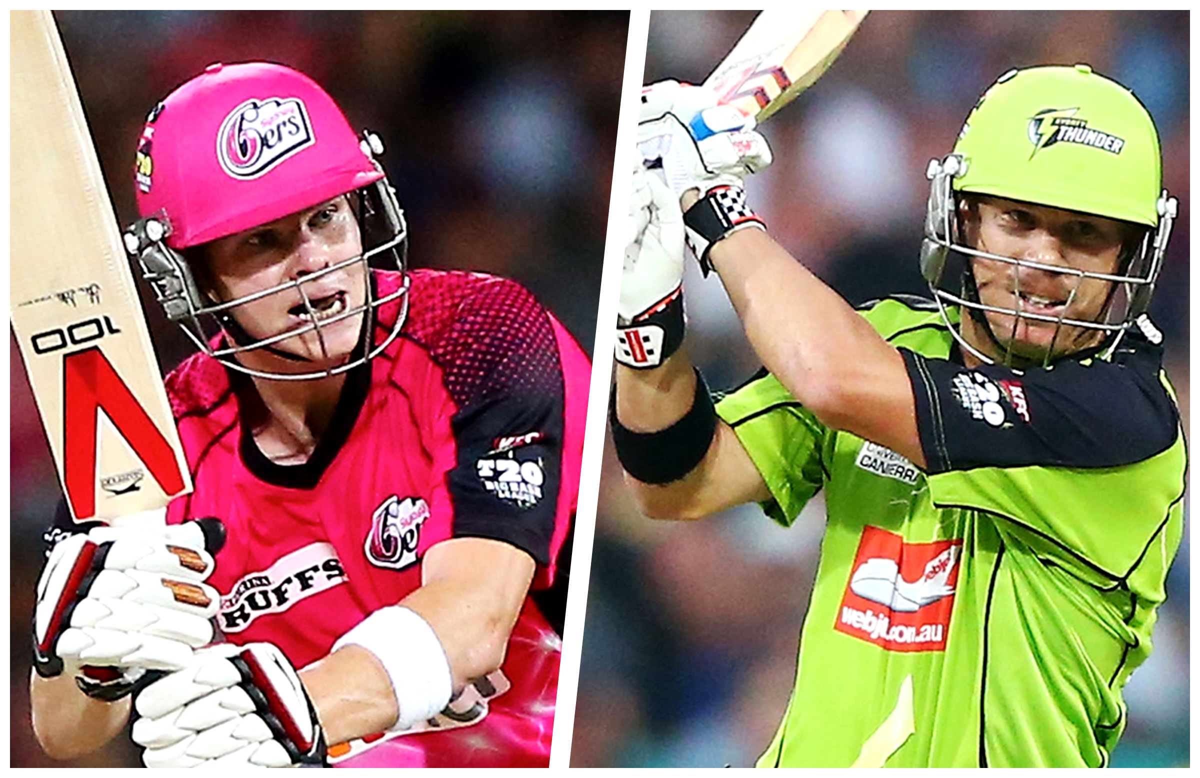 Steve Smith and David Warner play for Sydney Sixers and Sydney Thunders respectively. (Cricket.com.au)