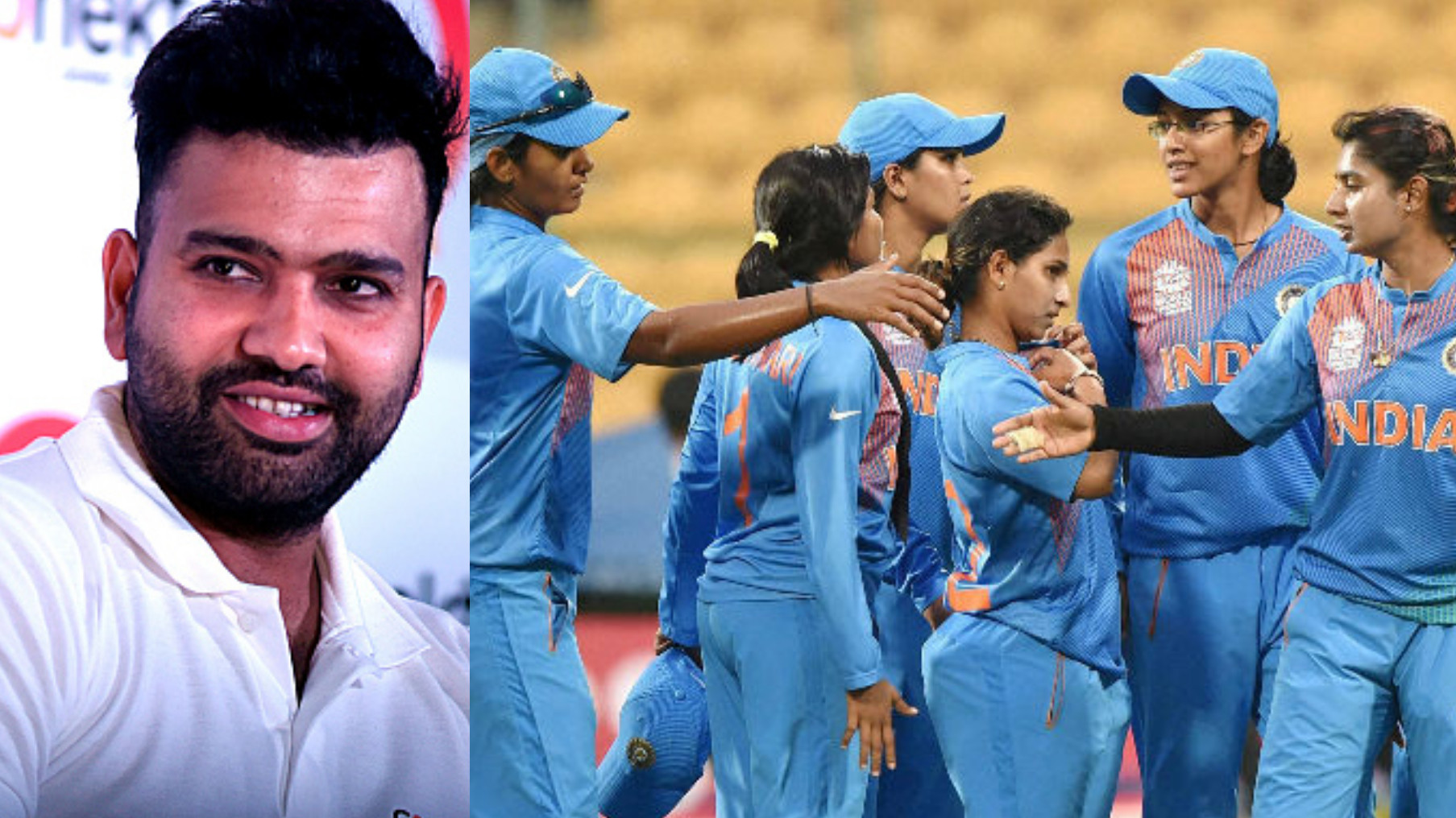 Women's World T20: Rohit Sharma wishes the India Women's team for their campaign