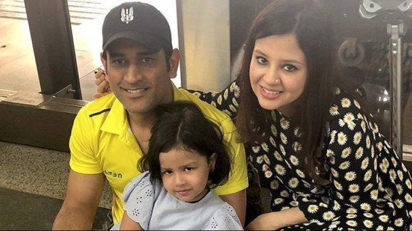 WATCH: Sakshi reveals why MS Dhoni isn't active on social media during lockdown
