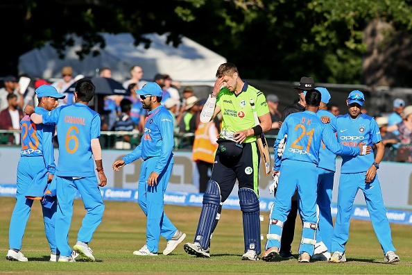 India clinched the T20I series against Ireland 2-0 | Getty