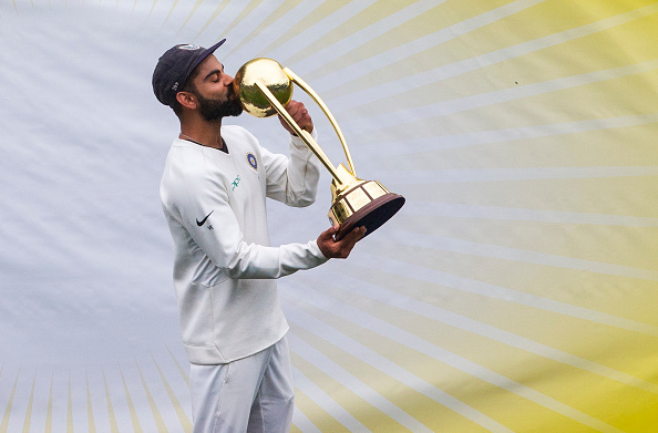 Virat Kohli became the first captain to win the Test series against Australia in Australia | Getty