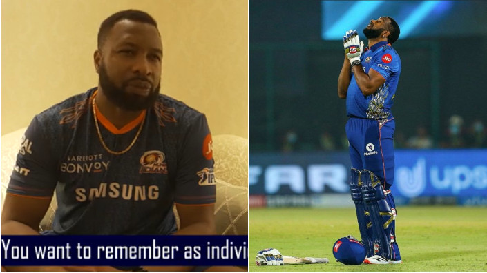 WATCH - Mumbai Indians post a special video for Kieron Pollard on his 34th birthday