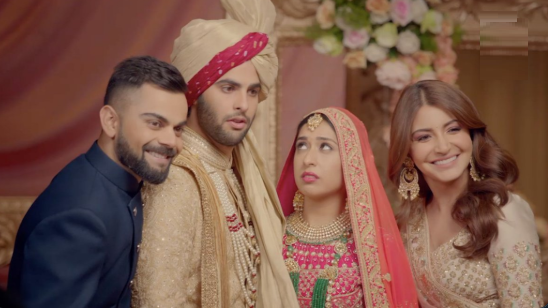 WATCH: Virat Kohli and Anushka Sharma come up with flaws of marriage