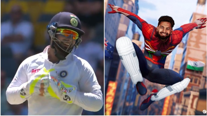 Rishabh Pant's spiderman song was a big hit among the fans