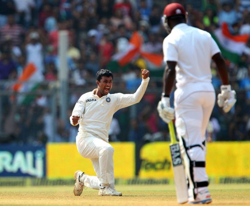 Pragyan Ojha picked 10 wickets in what turned out to be his final Test match   AFP