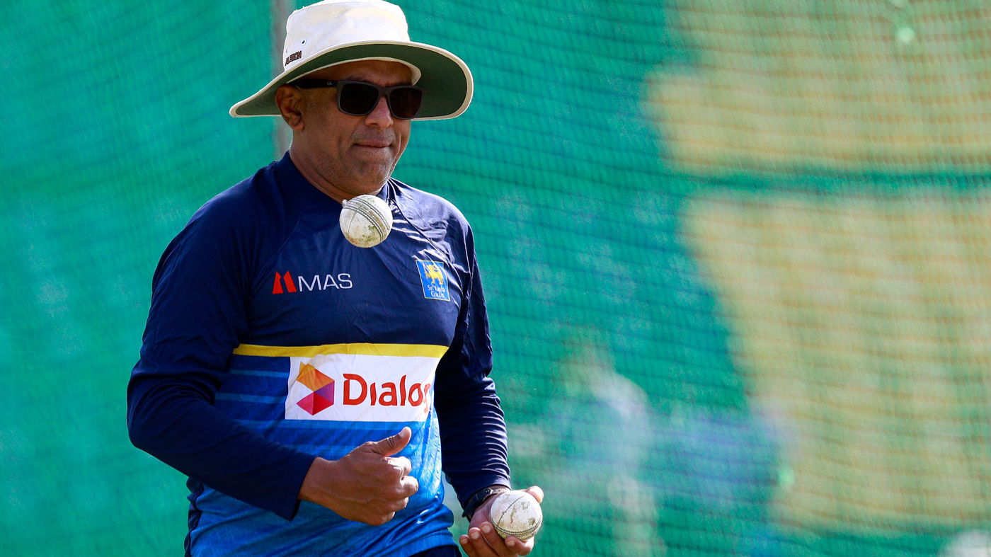 'Slow over rate' is Sri Lanka's big problem, admits coach Chandika Hathurusingha