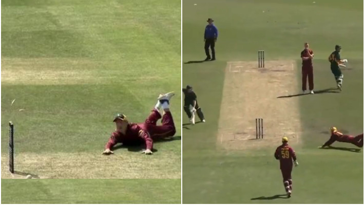 WATCH - Marnus Labuschagne pulls off a stunning run-out in the Marsh Cup