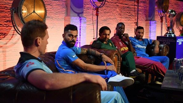 CWC 2019: Virat Kohli and other captains of all the teams interact together ahead of World Cup