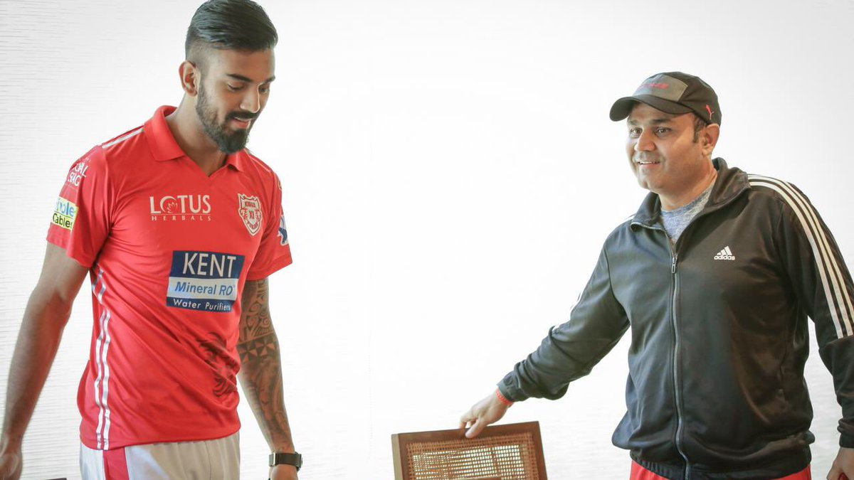 Virender Sehwag gives a unique full form of birthday boy KL Rahul's name
