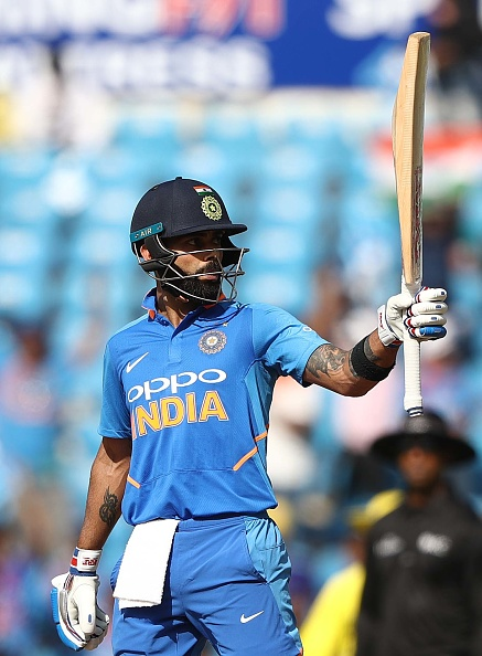 Virat Kohli will lead India in the World Cup for the first time | Getty