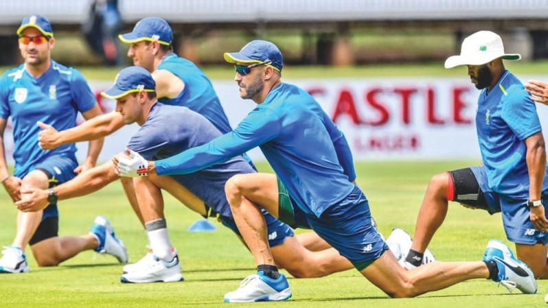 44 South Africa cricketers return to training after sports ministry's green signal