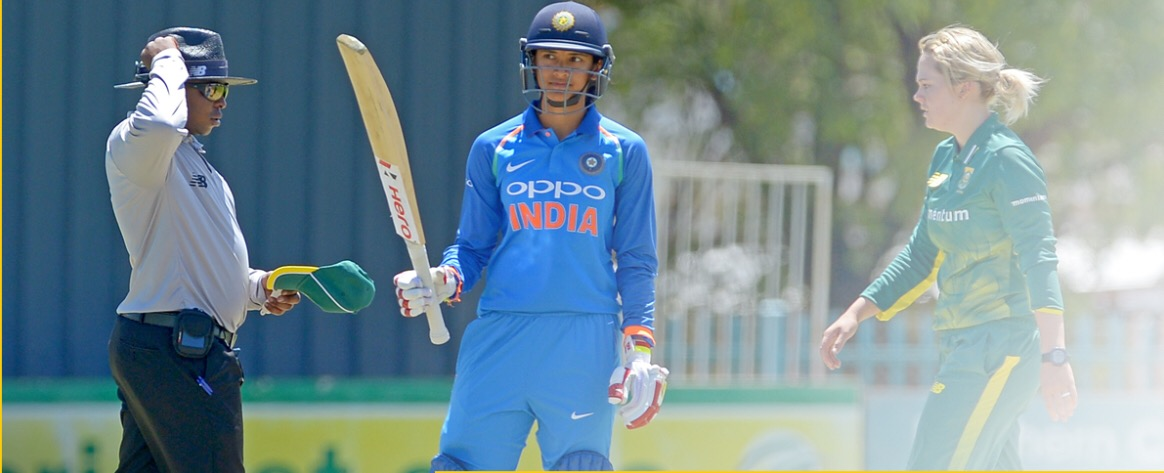 Smriti Mandhana powers India Women's team to a emphatic win over South Africa Women in 1st ODI