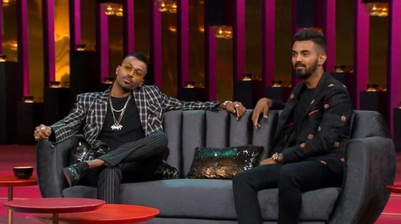Hardik Pandya and KL Rahul recently appeared on Koffee with Karan sgow | AFP