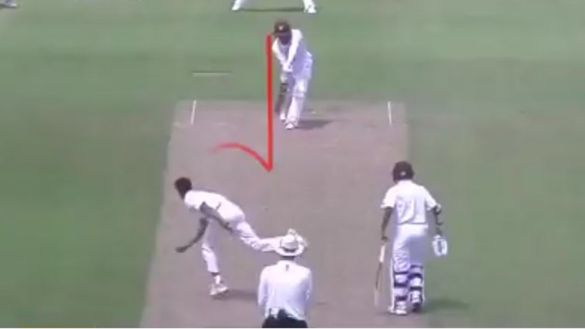 WATCH – Rajneesh Gurbani beats Shamarh Brooks in India A-WI A match with a 'Jaffa'