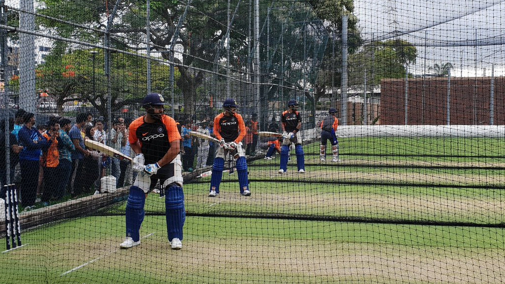 AUS v IND 2018-19: PICS – Indian team prepares for the Australian challenge in training session at Gabba