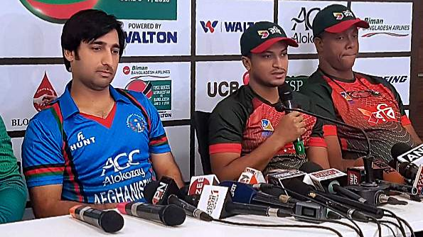 AFG vs BAN 2018: We were completely outplayed by Afghanistan, says Shakib Al Hasan after first ODI loss