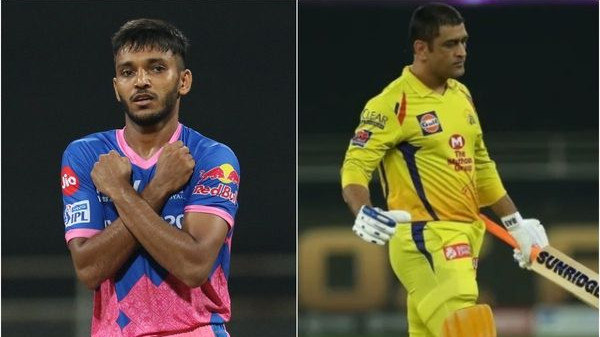 IPL 2021: MS Dhoni's wicket was the most special for me, says Chetan Sakariya