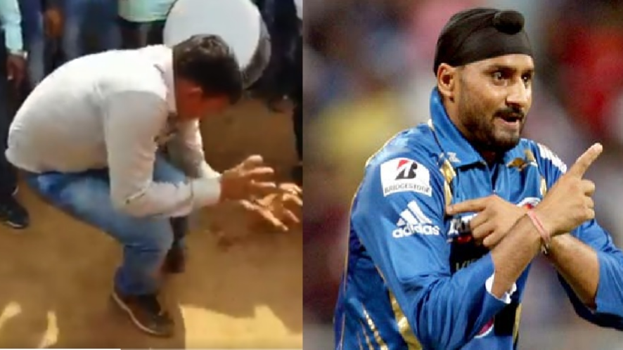 Watch: Harbhajan Singh introduces a new dance celebration after naagin dance