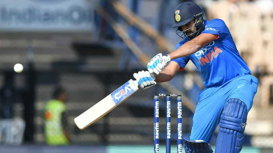 Rohit Sharma became only the second batsman to hit two scored of 150+ in a series | HT